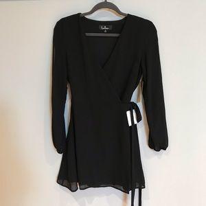 Lulus Wrap Dress, Sz S, NWT